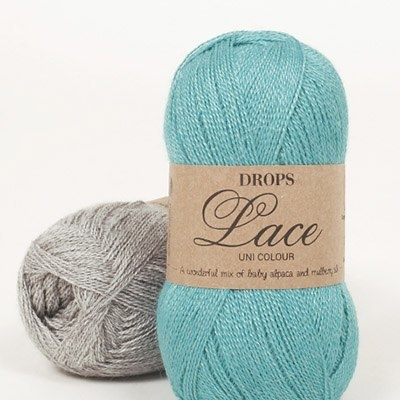 DROPS Lace (70% Baby Alpaca, 30% Mulberry Silke)