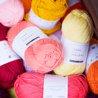 Yarn and Colors Must-have 8/4 (100% merceriseret bomuld) - NY!