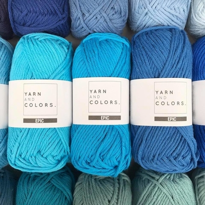 Yarn and Colors Epic 8/8 (100% bomuld) - NY!