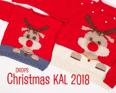 DROPS Jule-Knit-Along 2018 - Voksenbluse