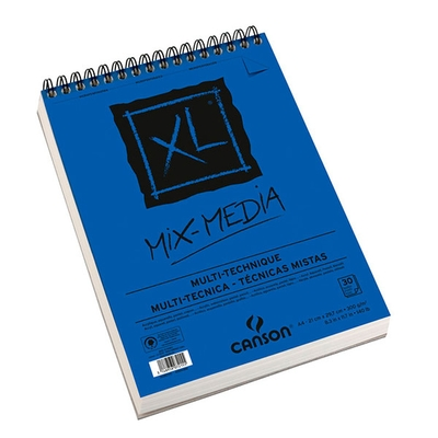 XL Mix-Media A4 Skitsepapirsblok