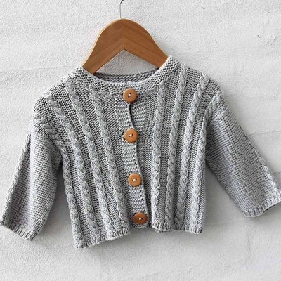 Go Handmade Cardigan Cable