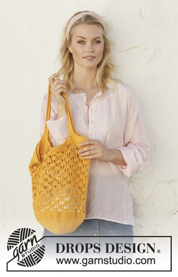 200-35 Pineapple Tote by DROPS Design