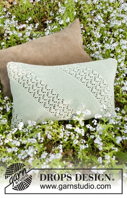 198-27 Diandra Pillow by DROPS Design
