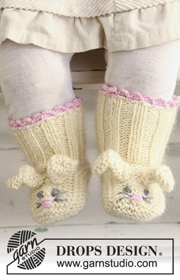 0-634 Bunny Toes by DROPS Design