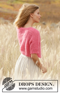 212-24 Sweet Melody Cardigan by DROPS Design