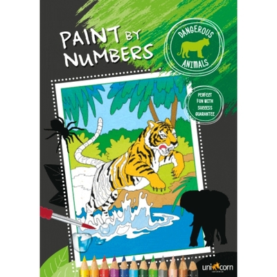Faber-Castell Paint by numbers Dangerous Animals