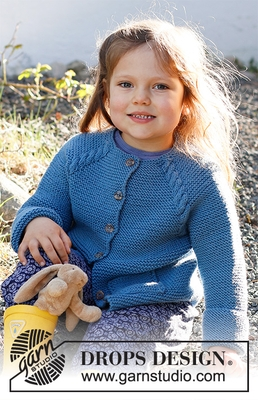 37-15 Autumn Smiles Cardigan by DROPS Design