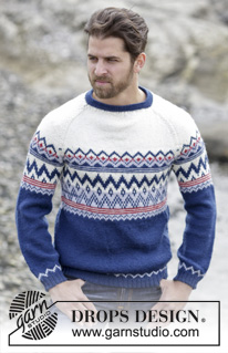 Ólafur Jumper by DROPS Design
