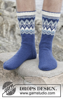 Ólafur Socks by DROPS Design