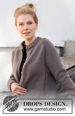 216-39 Country Muse Cardigan by DROPS Design