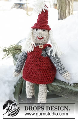 0-788 Mrs. Claus by DROPS Design