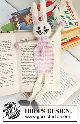0-633 Bella, the Book Bunny by DROPS Design
