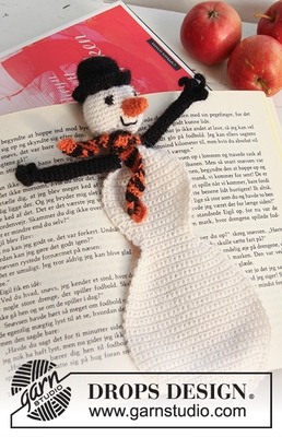 0-737 Frosty the Bookman by DROPS Design