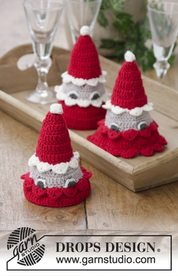 0-1411 The Santa Bunch by DROPS Design