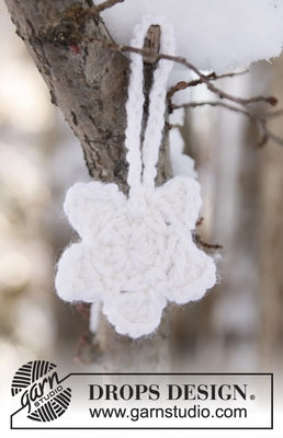0-807 Snow Charm by DROPS Design