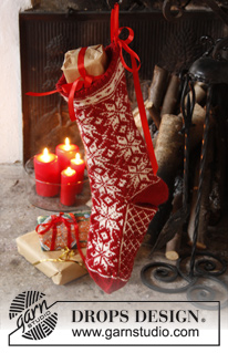 Mr. Kringle's Stocking by DROPS Design