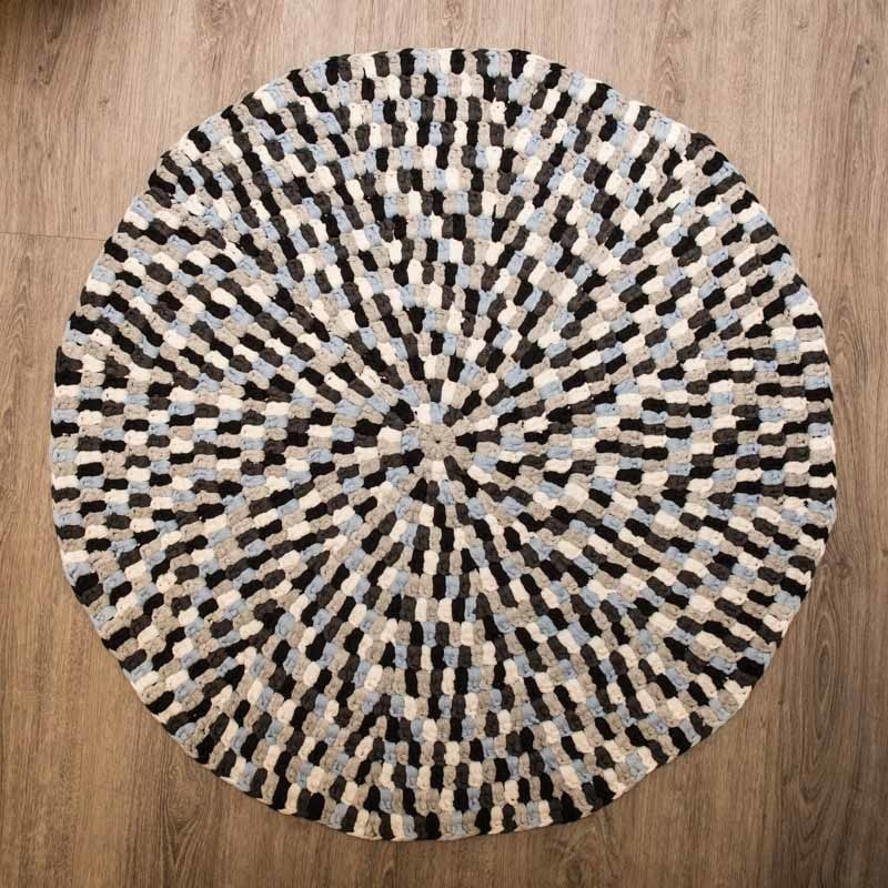 Enormt Moderne multifarvet tæppe i Mayflower Ribbon - Køb billigt her HB72