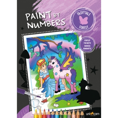 Faber-Castell Paint by numbers Fairytale Forest
