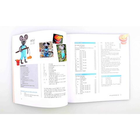 Rørig Bog: Go handmade - 14 hæklede dyr - Køb billigt her GU-09